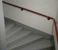 peinture de sol sur escalier