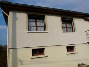 Peinture facades enduits tullins isere 38 drome 26 rhone for Facade exterieur villa